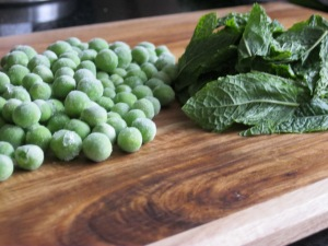 Pea and Mint soup 1