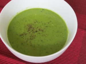 Pea and Mint soup 2