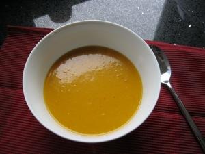 Bnut squash soup