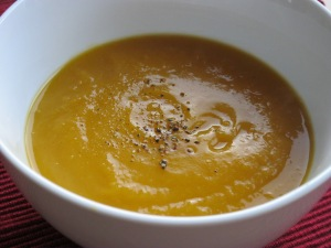 Sweet pot and ginger soup