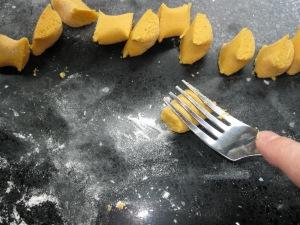 Sweet Potato gnocchi 4