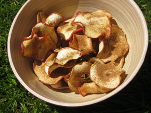 Cin apple crisps