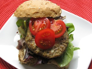 Pesto Turkey Burger2