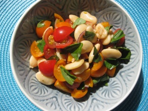 Cherry Tom & Butterbean salad