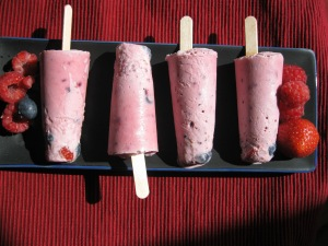 Froyo Berry Pops
