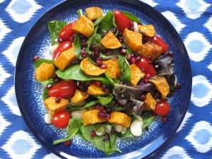 Sweet Potato & Pom salad