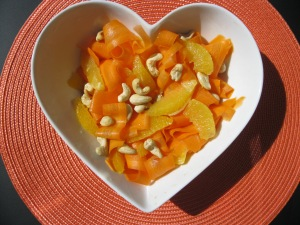 carrot & orange salad