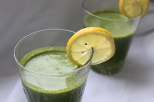 Good morning green juice