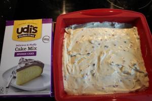 Udi's sponge mix