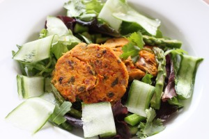 Sweet Potato & tuna cakes2