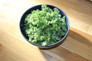 Kale before
