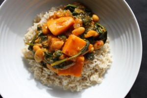 Sweet Potato & Spinach Curry2