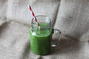 Kale & Pineapple smoothie