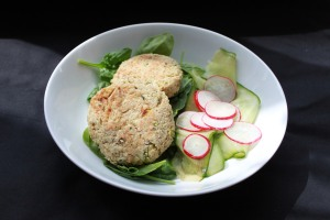 Thai spiced quinoa cakes2