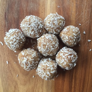 Lemon & Coconut Balls